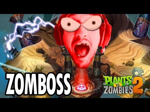 Plants vs. Zombies 2: ZOMBOSS BATTLE in Ancient Egypt (iOS Face Cam)