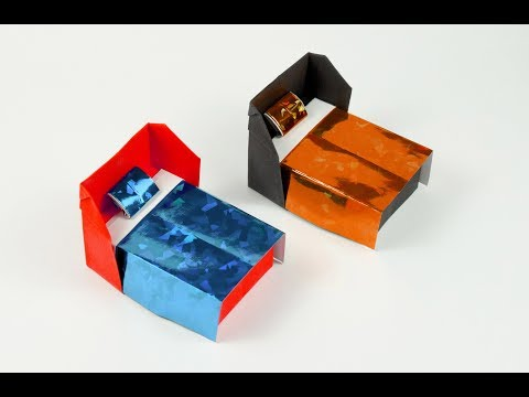 How to make a paper Bed?
