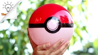 [DIY] PokeBall Fence Light | Pokemon Go Style | Thaitrick