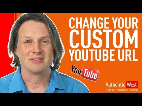 How to Change Your Custom YouTube URL | Brighton West Video