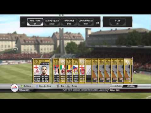 How to make 2.7M coins in 30 seconds - FIFA 12 Ultimate Team
