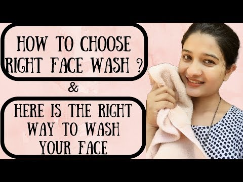 Types of face wash in Hindi & common mistakes using face wash I SKIN CARE I Face cleansing I AVNI