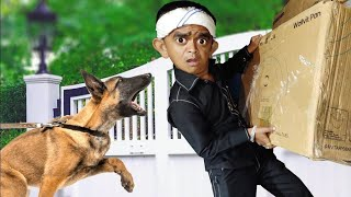 CHOTU CHOR | छोटू काला चोर | Khandesh Hindi Comedy | Chotu Dada Comedy Video