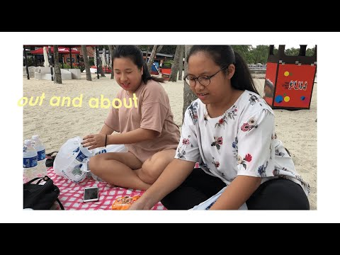 out and about / 노래방, beach