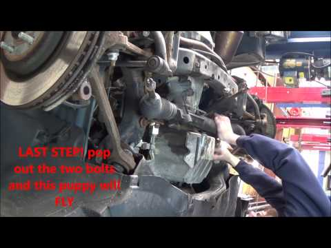 Chrysler 300/Dodge Charger Removing Rack and Pinion - WALKTHRU