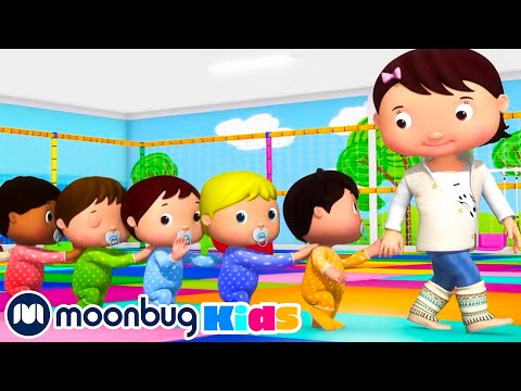 Ten Little Babies with Mia and Jacus | Original Songs | By LBB Junior