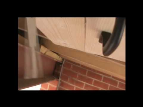 HP199DF Carport or Garage Mezzanine Conversion with Hatch door & lock-YouTube.mp4