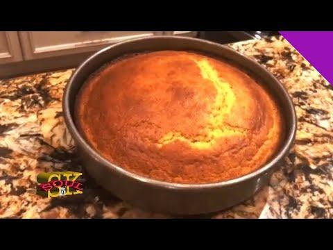 Sweet Moist Cornbread Recipe EASY