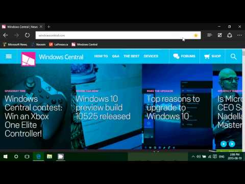 Windows 10 Tips and tricks how to add favorites bar in Microsoft Edge
