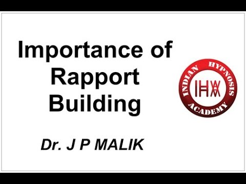 Why Rapport Building is Important ? (Hindi)