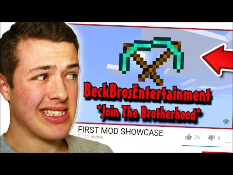 REACTING TO MY FIRST MINECRAFT MOD... (bad idea)