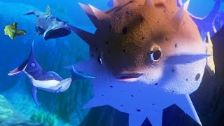 NEW PUFFER FISH! 20,000 DAMAGE!!! - Feed and Grow Fish - Part 36 | Pungence