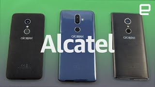 Alcatel 1X, 3V and 5 first look at CES 2018