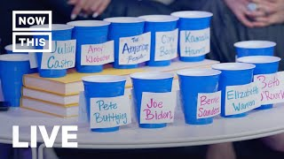 Houston Democratic Debate Watch Party with Comedians, Journalists, and Strategists | NowThis
