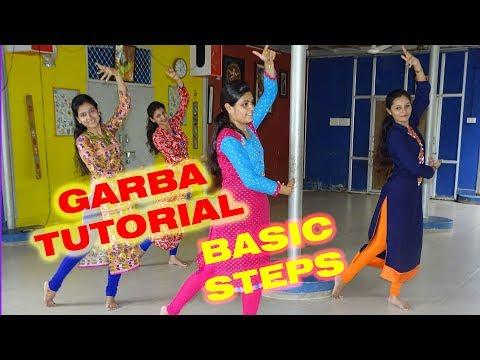 2017 Garba Dance Tutorial #1 || BASIC Steps for Navratri