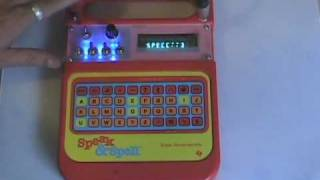 Circuit bent Speak and Spell circuit bending