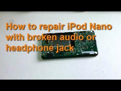 How to repair broken headphone jack of iPod Nano 1st generation
