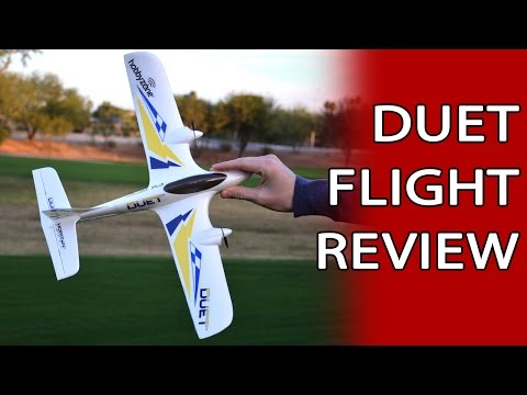 Duet Flight Review - Super Cool Easy To Fly Mini RC Plane