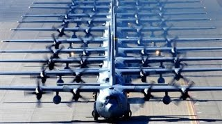 US Air force puts on a SHOW OF FORCE to show the world who