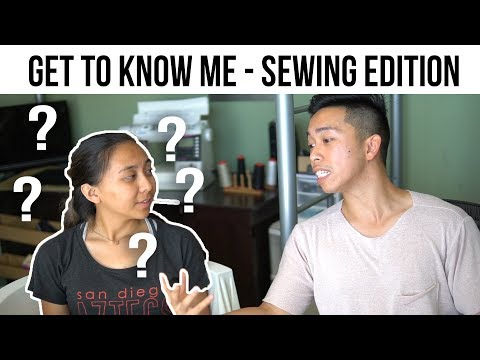 Get to know me! Sewing Edition