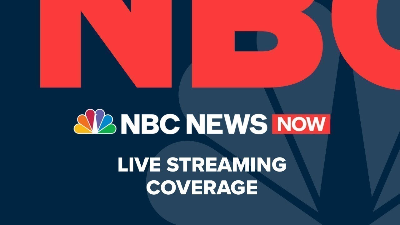 Live: NBC News NOW - May 13
