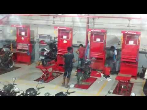 How Servicing done at Honda 2 Wheeler Service Centers in Kolkata