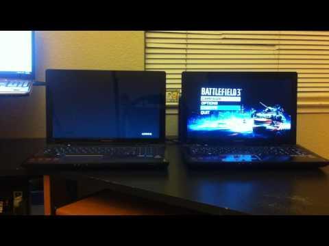 Battlefield 3 HDD vs SSD on Lenovo Y580, how to install mSATA SSD (Description)