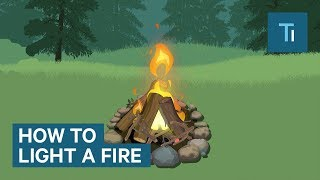 How To Build A Fire Without A Lighter