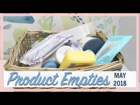 Product Empties   Good & Bad Reviews - Spring 2018