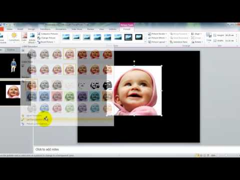 powerpoint - How to Make a Transparent Picture