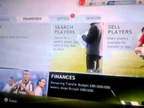 FIFA 14 Career Mode Money Cheat (Any player for free)