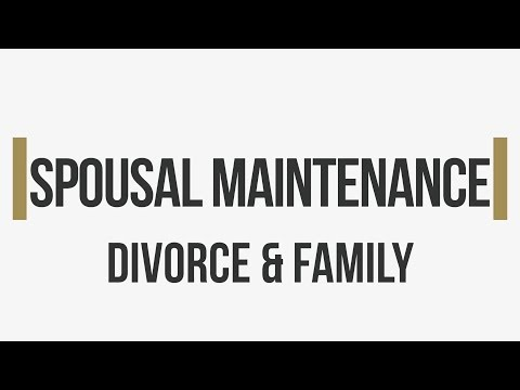 Washington Divorce  Spousal Maintenance | The Law Offices of Jason S. Newcombe