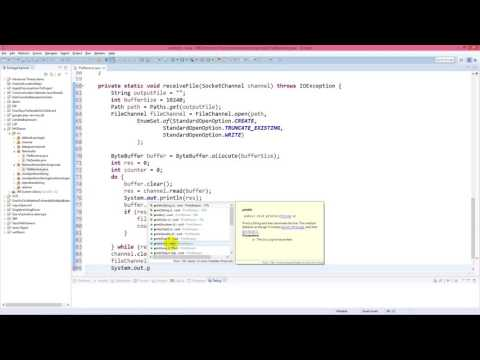 Java NIO - Non-blocking file transfer through SocketChannel