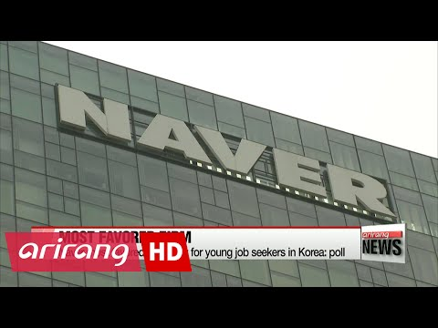 Naver most favored company for young job seekers in Korea: poll