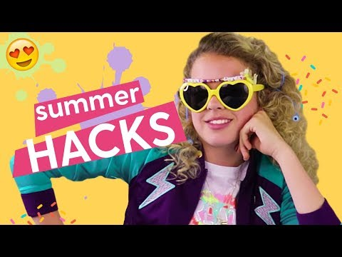 DIY Summer Hacks Ep.1: Musical Sunglasses, Party Light, Phone Charger | GoldieBlox