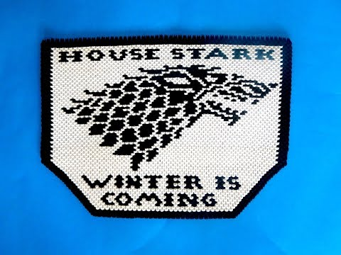 3D ORIGAMI HOUSE  STARK BANNER PAINTING