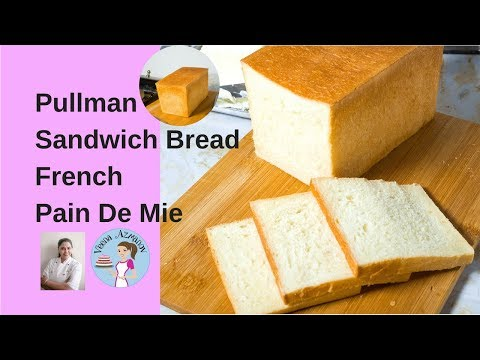 Pullman Sandwich Bread |Pain de Mei French Sandwich Bread Recipe