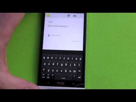HTC One Google Keyboard Update