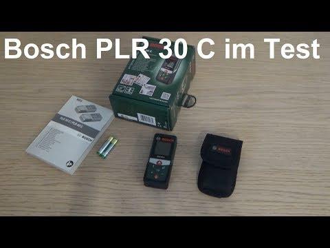 Bosch Laser Entfernungsmesser PLR 30 C im Test Bosch PLR 30 C