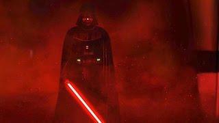 Darth Vaders Rage Star Wars Rogue One ending Scene