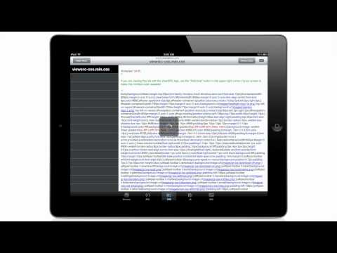 ViewSRC - Web Page Source Code Viewer for iPad