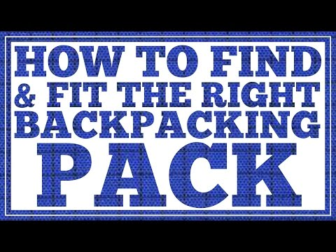 How to Find and Fit the Right Backpacking Backpack - CleverHiker.com