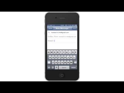 How to Send Email from iPhone and iPad