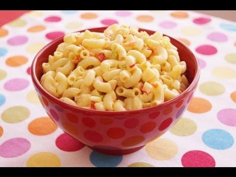 Macaroni Salad Recipe: How To Make Classic American Macaroni Salad: Diane Kometa-Dishin' With Di #87