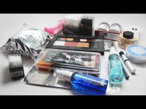 Professional Makeup Artist Convention Kit Haul