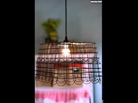 Anthropologie Knockoff DIY Basket Light