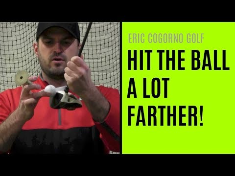 GOLF: How To Hit The Ball A Lot Farther Without Swinging Faster