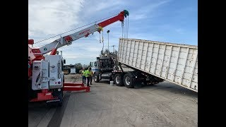 Rotator Lifting A Shifted Load, 25,000 pounds