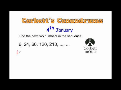 Corbett's Conundrum - 4th January