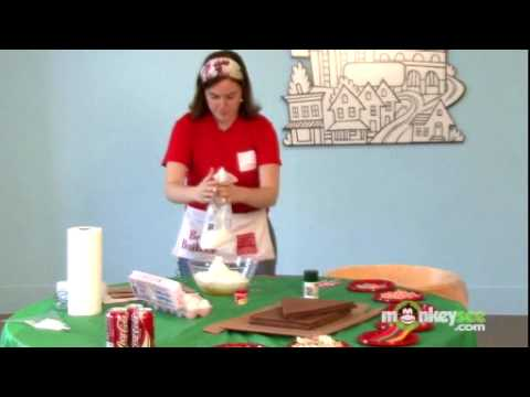 Making Icing for Gingerbread House